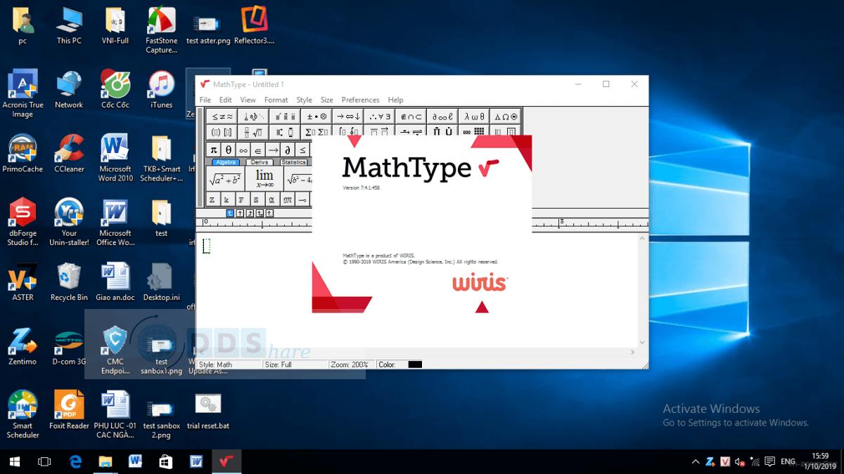 mathtype full key